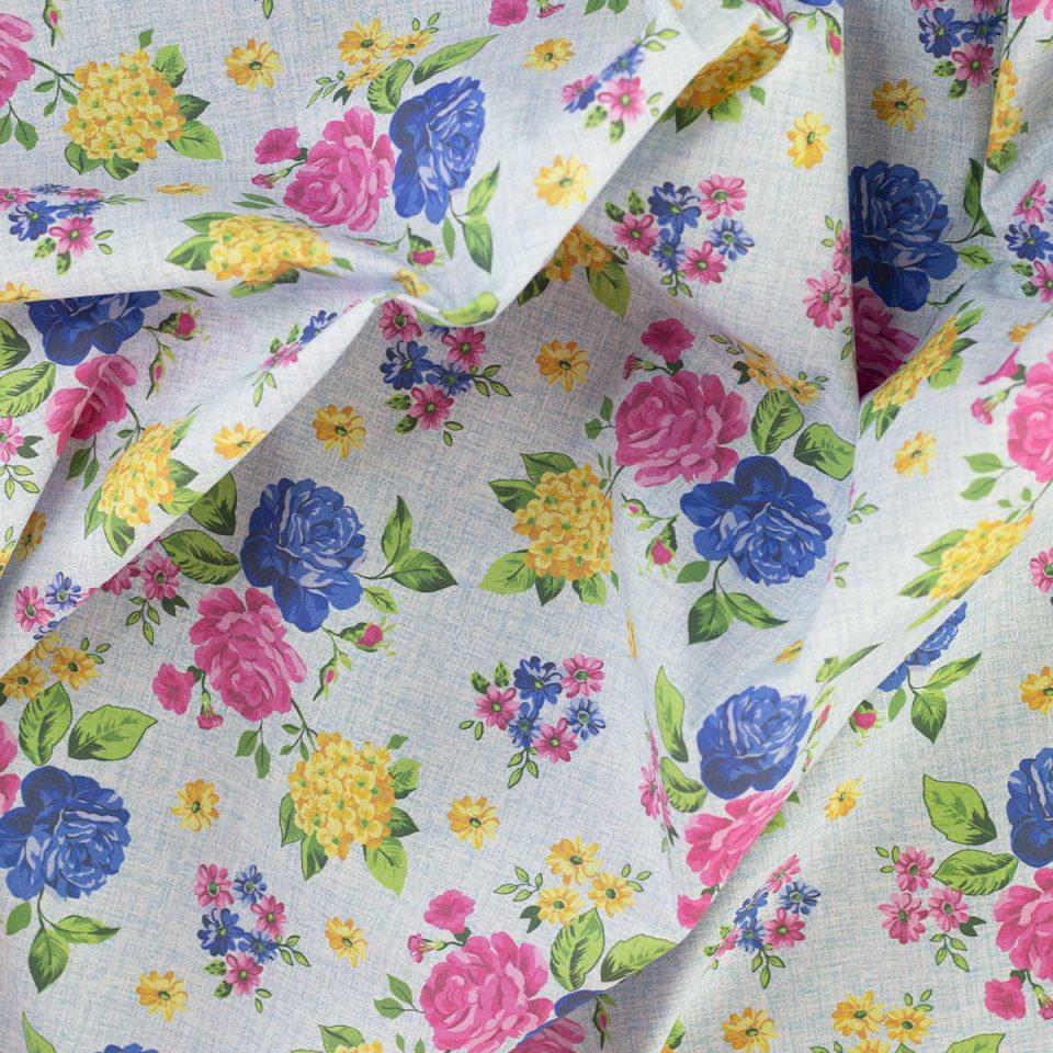 Kurosawa Flores tela estampada