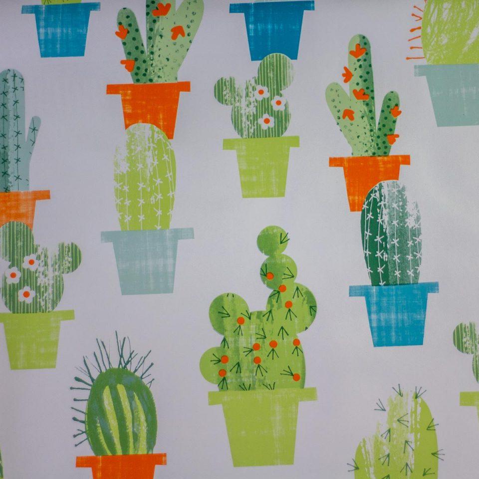 Tela Plastimesa Mantel PVC Estampado Cactus