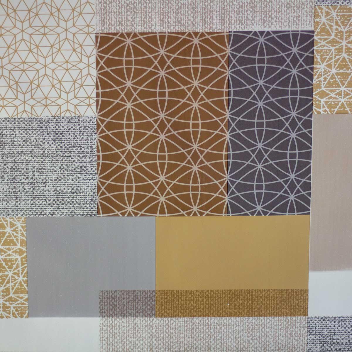 Tela Plastimesa Mantel PVC Estampado Mosaicos Patchwork
