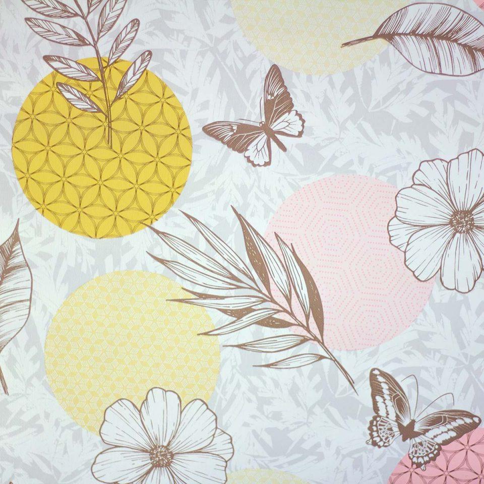 Tela Plastimesa Mantel PVC Estampado Mariposas
