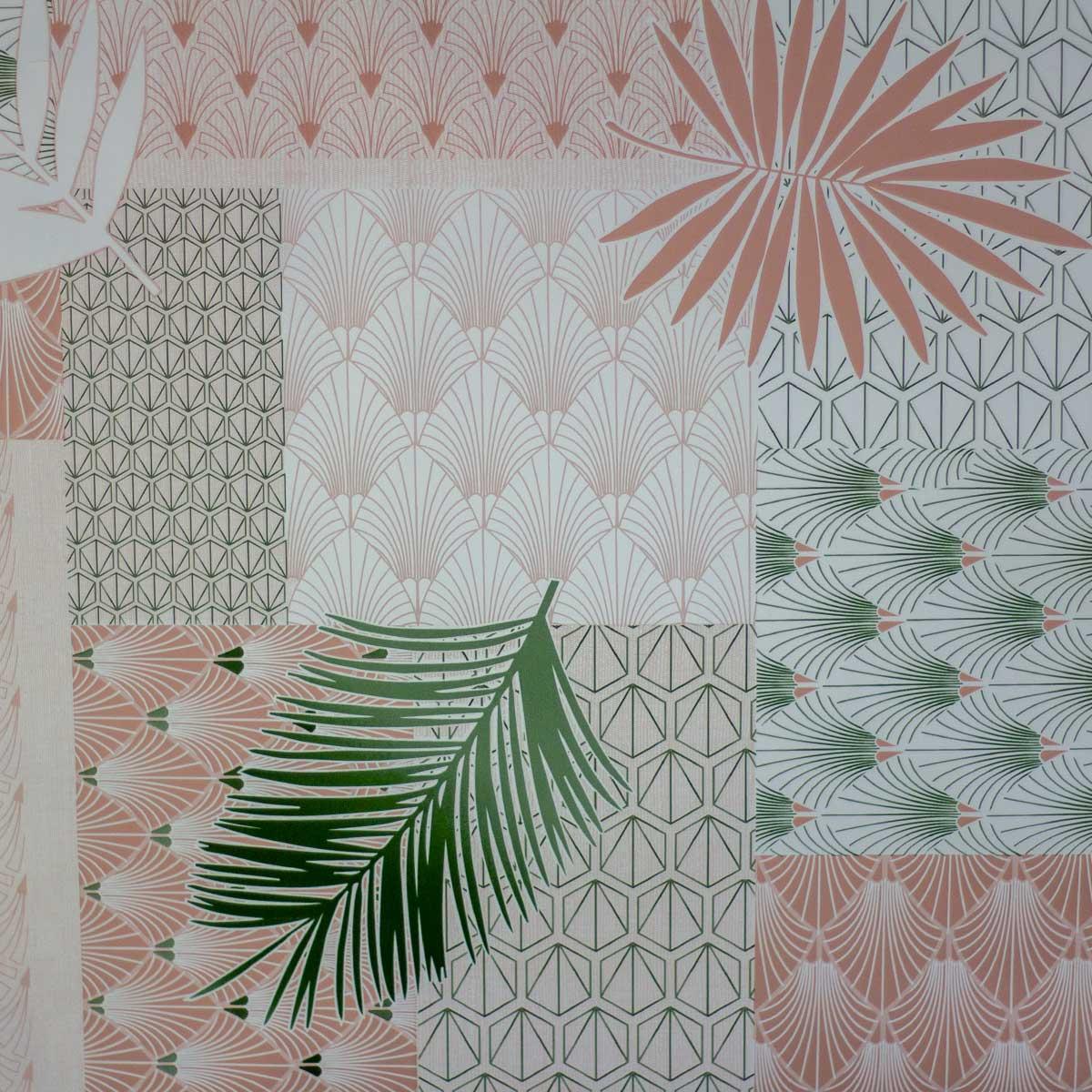 Tela Plastimesa Mantel PVC Estampado Tropical