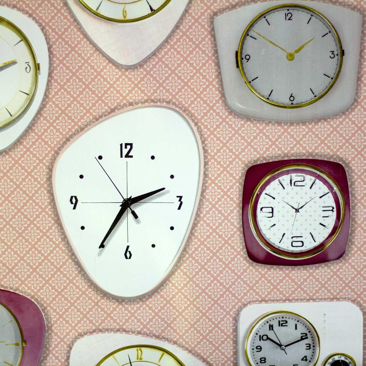 Tela Plastimesa Mantel PVC Estampado Relojes