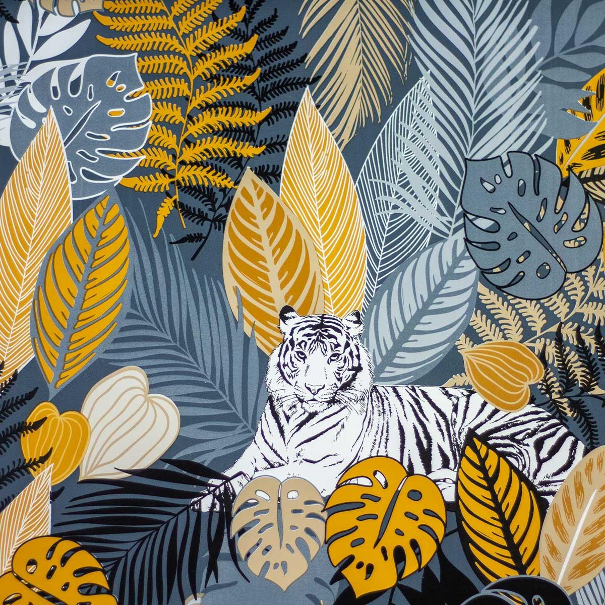 Tela Plastimesa Mantel PVC Estampado Tigre