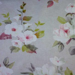 Tela Plastimesa Mantel PVC Estampado Ramo Colores Rosa
