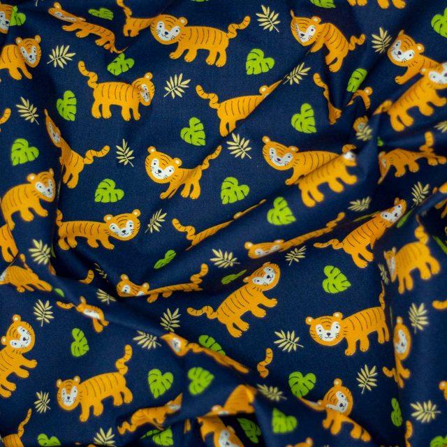Tela Kurosawa Estampada Tigres
